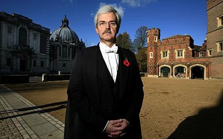 Tony Little, former head master of Eton