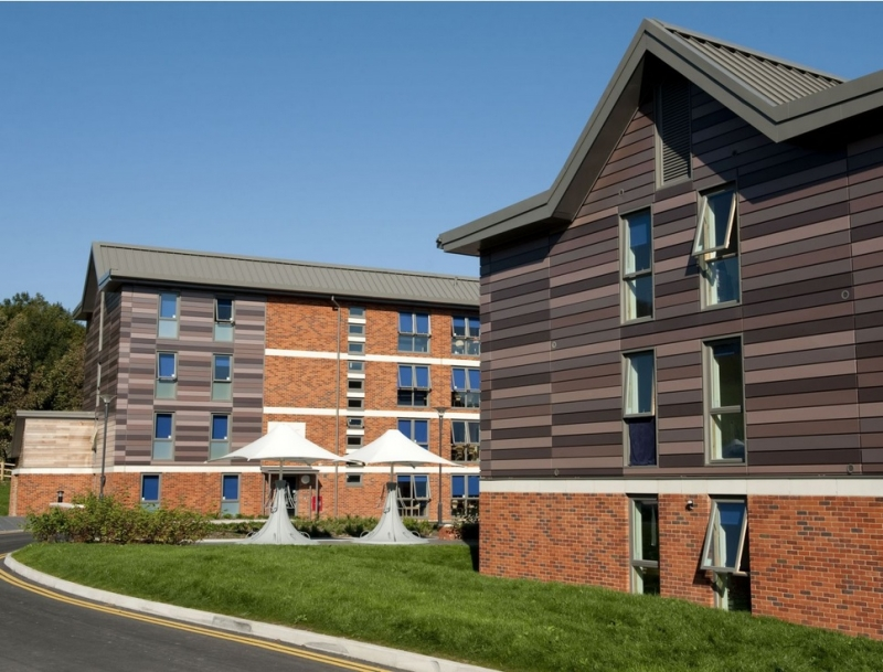 University of Sussex student hall